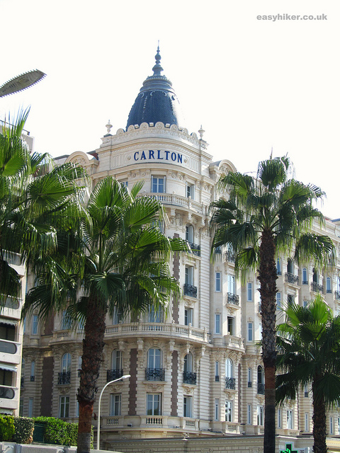 """Oh yes we Cannes - The Carlton Hotel along the Croisette"""