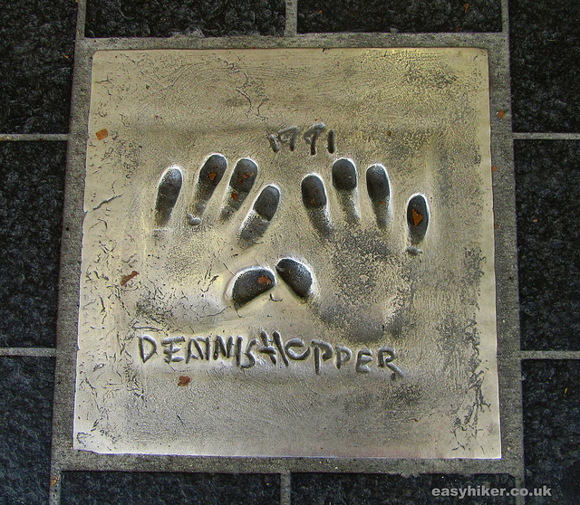 """Hand prints of famous stars on the pavements of Cannes"""