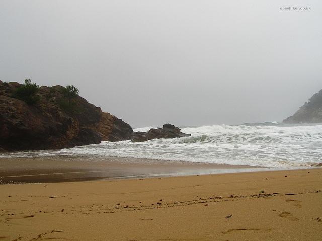 """""""The beach of La Fosca on the Cami de Ronda in Costa Brava"""""""