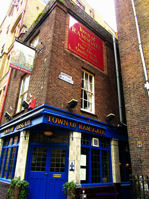 """The Ramsgate pub among the ghosts of London past"""