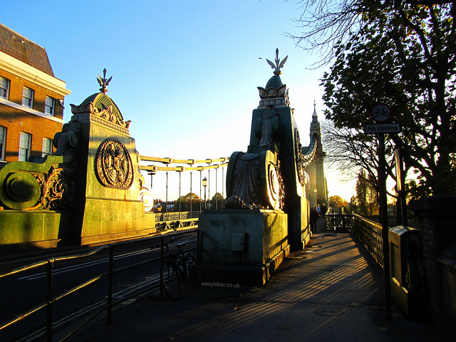 """The Hammersmith Bridge of London"""