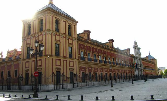 """""""San Telmo Palace where you start walking Seville"""""""