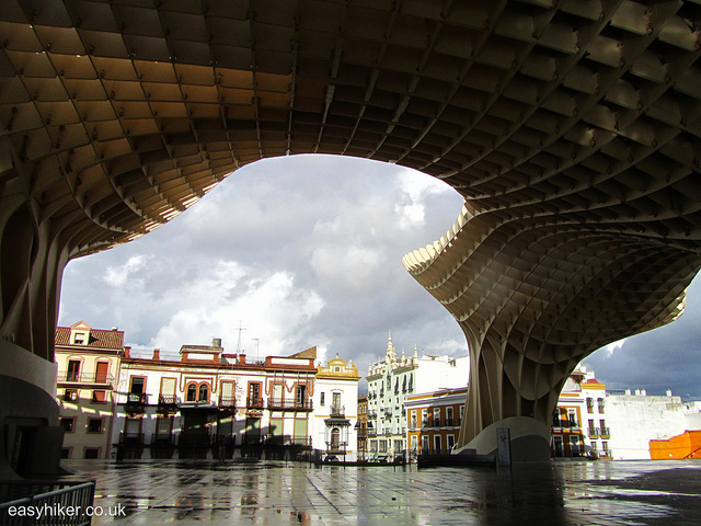 """Smiten by Seville with the Metropol Parasol """