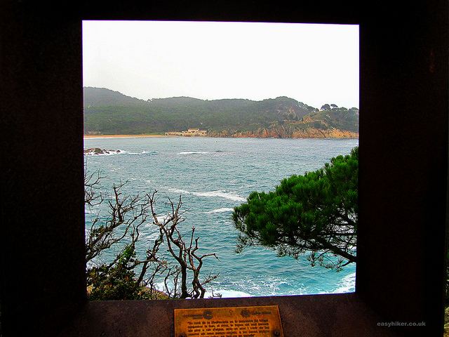 """a scenic view of the picture pretty trail of La Fosca in the Cami de Ronda"""