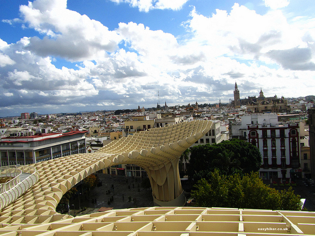 """Part of the Mirasol Parasol in Sevilla"""