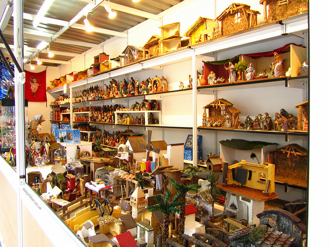 """morefigurines for the nativity scene in Feria del Belen in Seville"""