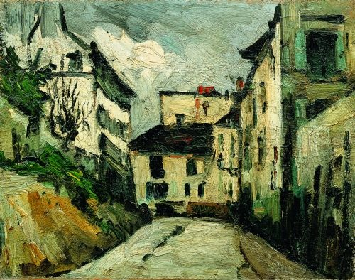 """Rue des Saules as painted by Cezanne - themed Paris urban walk in Montmartre"""