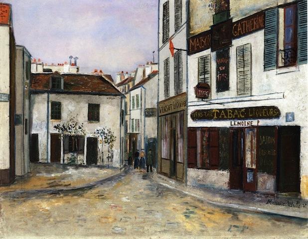 """""""Maison Catherine restaurant in Montmartre Place de Tertre"""""""
