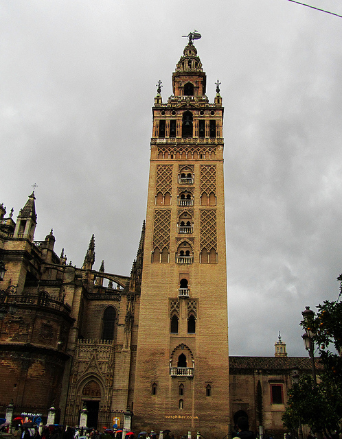 """Giralda tower in Seville"""