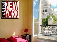 """New York Habitat Montmartre apartment"""