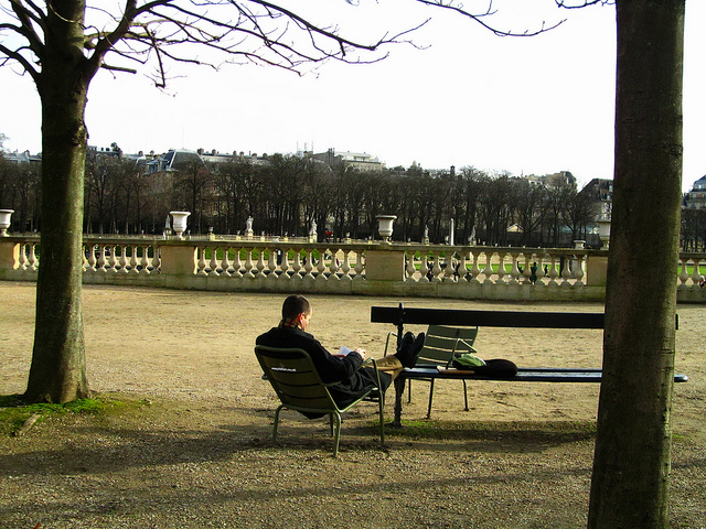 """Jardin de Luxembourg in Paris"""
