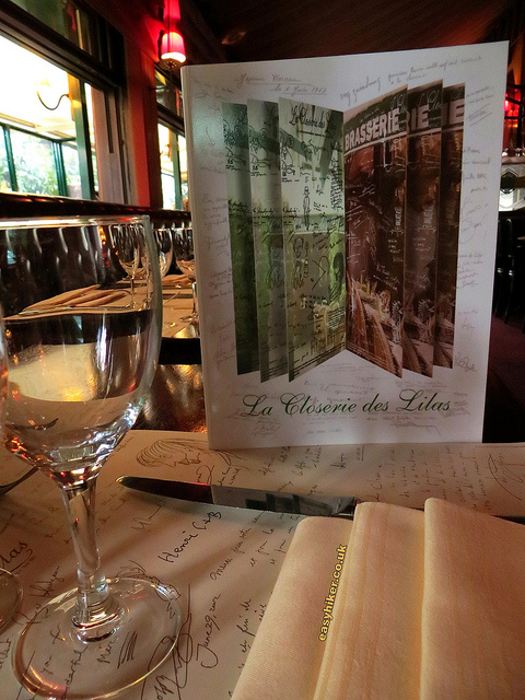 """Inside the La Closerie des Lilas in Hemingway's Paris"""
