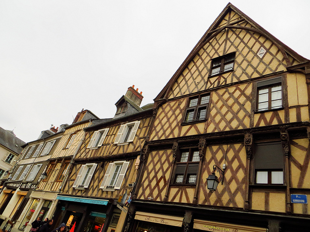 """Rue Bourbonnoux in Bourges a French provincial backwater """