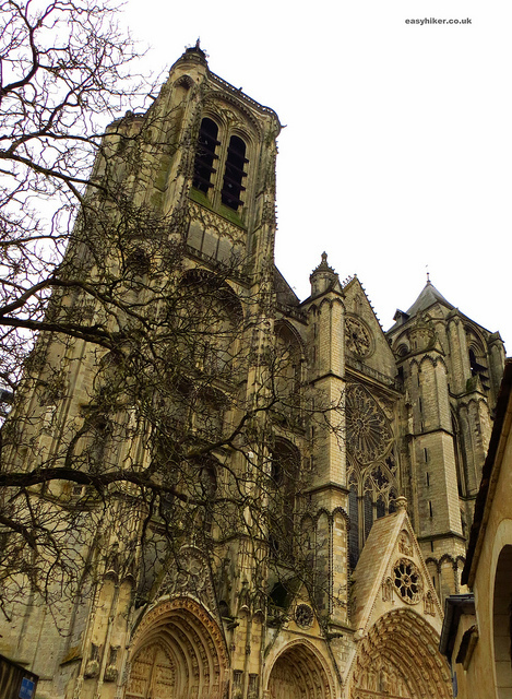 """Cathedral St Etienne Bourges, a pretty french provincial backwater  """