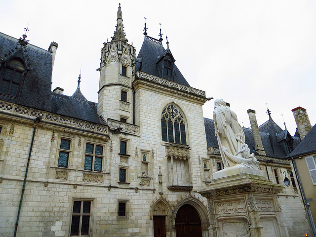 """Palais Jacques Coeur  in Bourges a French provincial backwater """