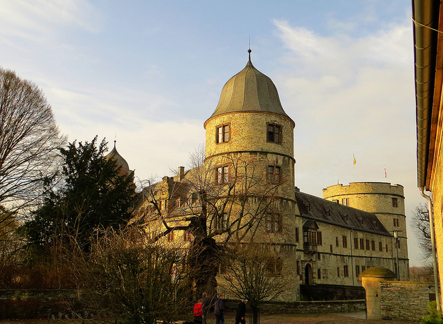 """Wewelsburg Castle in Paderborn"""