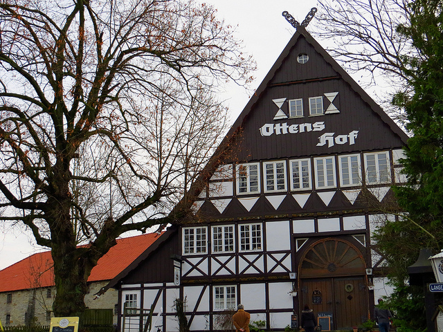 """The OttensHof restaurant in Wewelsburg"""