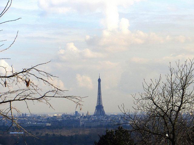 """Climb every mountain, with Mont Valerien as one of them overlooking Paris"""