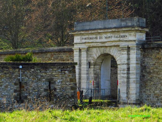 """Fortress of Mont Valerien near Paris"""