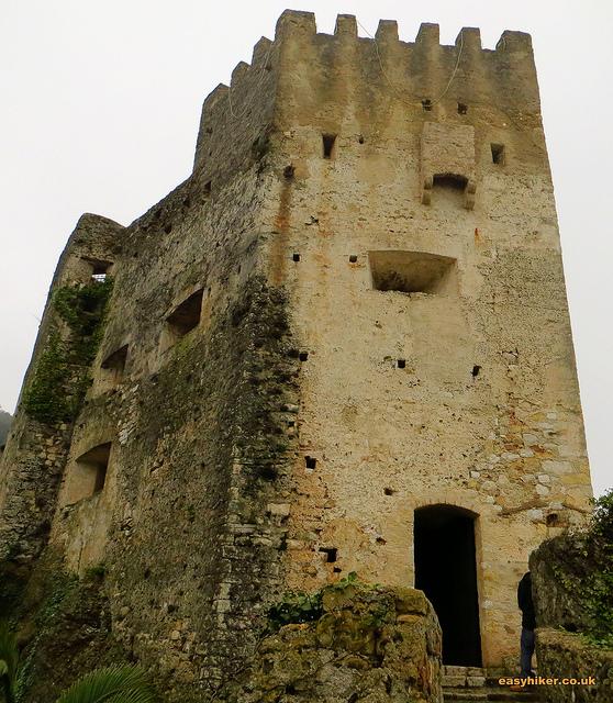 """The Garibaldi Fortress in Roquebrune French Riviera"""