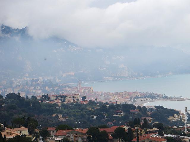 """""""Menton seen from Roquebrune hilltop"""""""