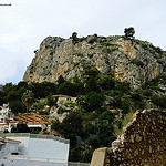 Eze Village atop Eze hill in Cote d'Azur