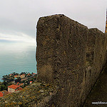 """Roquebrune Castle in the Cote d'Azur"""