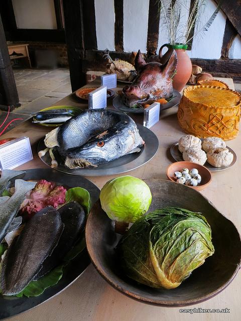 """""""Feast fares represented in Tudor Hunting Lodge museum"""""""