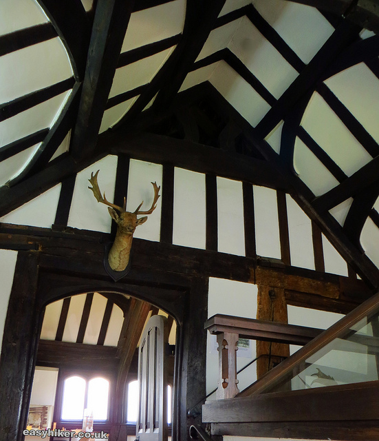 """""""Inside the Tudor hunting lodge in Epping Forest"""""""