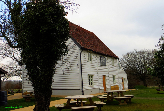 """""""Butler's Retreat beside the hunting lodge in Epping Forest"""""""