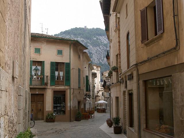 """""""Pollensa town in Majorca"""""""