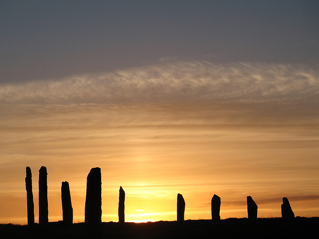 """""""ring of brodgar to see on hiking while cruising"""""""