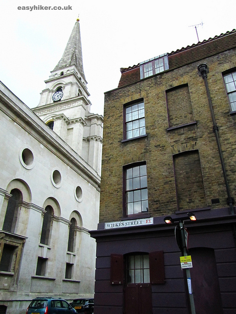 """Wilkes Street along the London crime trail part 2"""
