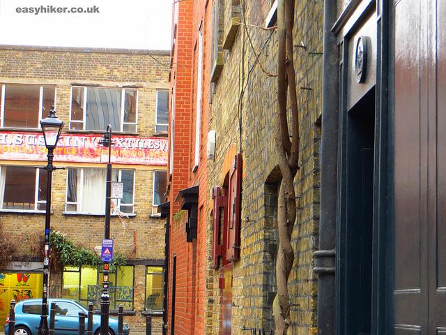 """""""Part of Brick Lane along the London crime trail part 2"""""""