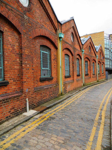 """George Yard building along the London crime trail part 2"""