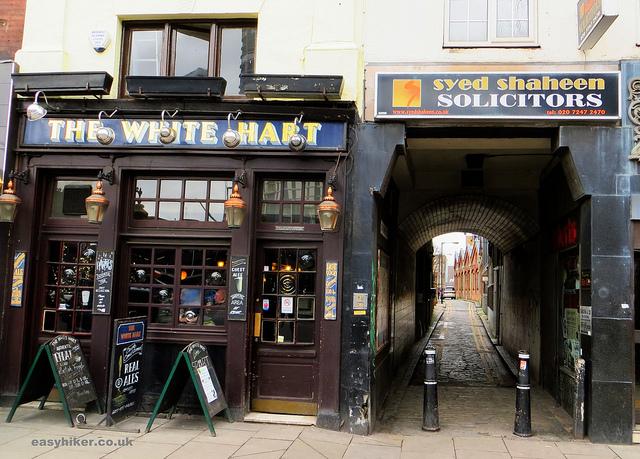 """White Hart pub along the London crime trail part 2"""