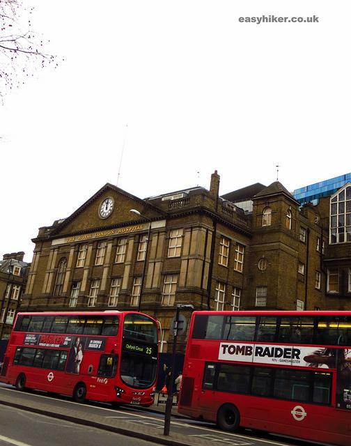 """The Royal London Hospital along the London crime trail part 2"""