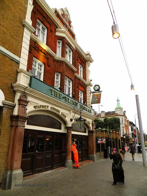 """Blind Beggar pub along the London crime trail part 2"""