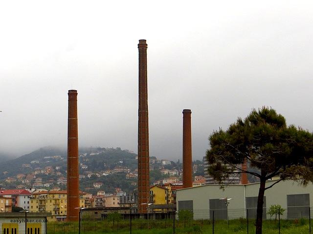 """""""A factory seen in Porto Maurizio in Imperia Italy"""""""