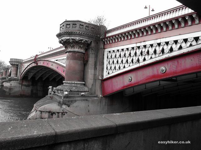 """Blackfriars Bridge along the London crime trail"""