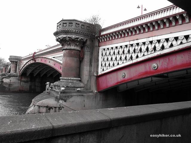 """Blackfriars Bridge along the London crime trail"""