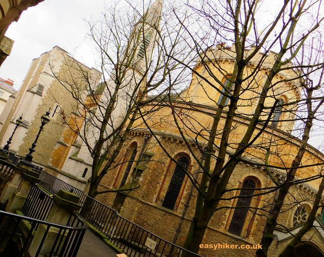 """Temple Church along the London Crime trail"""