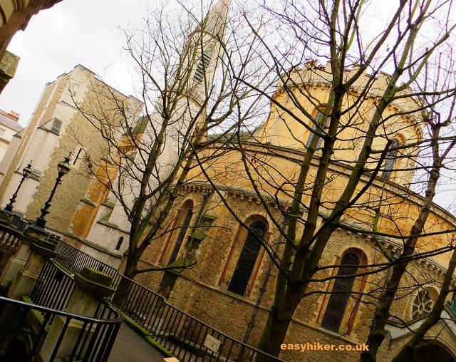 """Temple Church along the London Crime trail"""