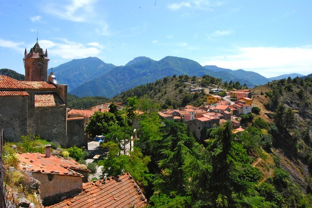 """""""Saorge Village seen on a walking holiday"""""""