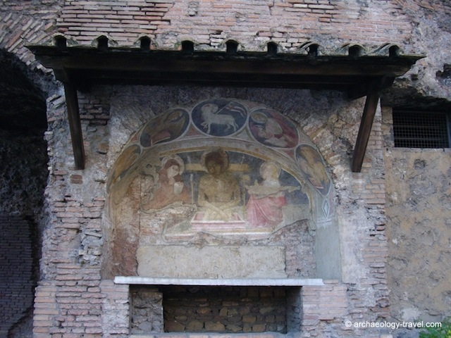 """Well-preserved Frescoes in Rome"""