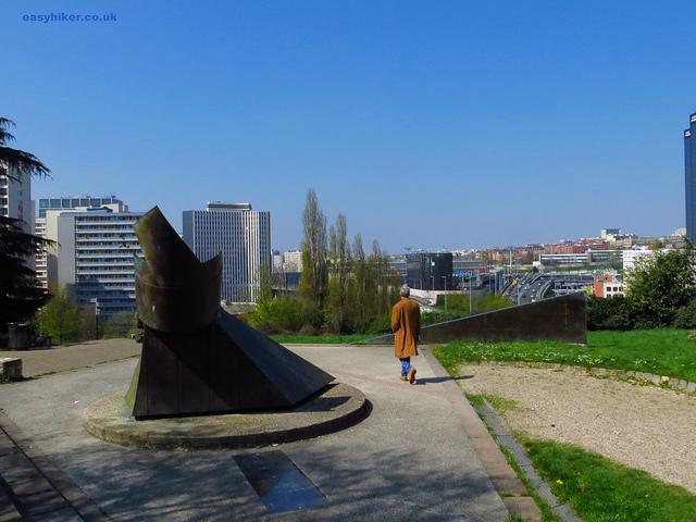 """Walks near Paris - The view from a Paris suburb park"""