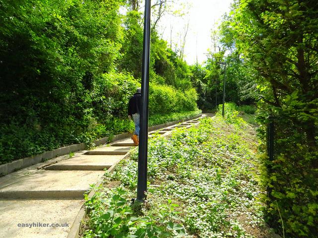 """""""One of the walks near Paris towards the Sentier de la Gorgette"""""""