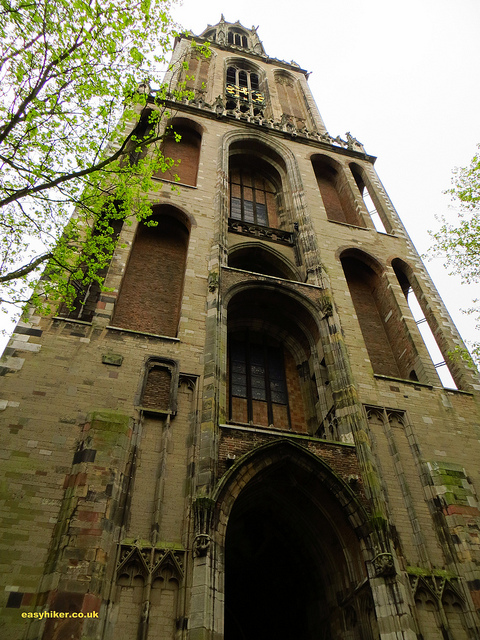 """Cathedral tower for our vertical hike in Utrecht"""