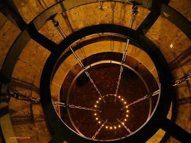 """first floor of the cathedral tower in our vertical hike in Utrecht"""