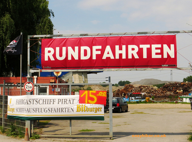 """Rundfahrten as an attraction along the railtrack hiking trail"